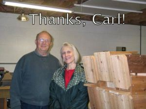 Many thanks, Carl, for helping start this trail!