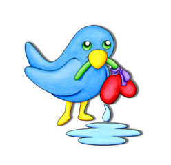Very Sad Bluebird