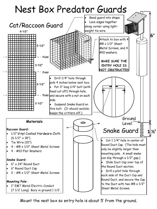 Predator Guard Plans from VBS